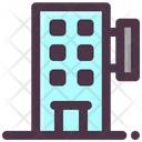 Hotel Apartment Resort Icon