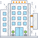 Hotel Building Architecture Real Estate Icon