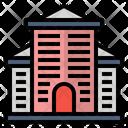 Building Flats Hotel Icon Icon