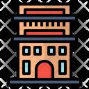 Apartment Building House Icon Icon
