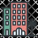 Hotel Building Villa Icon