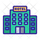 Hotel Contour House Icon