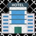 Hotel Building Plaza Icon
