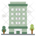 Condominium Apartment Residential Icon