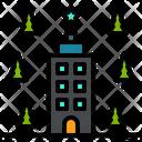 Hotel Inn Travel Icon