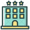 Hotel Vacation Star Icon