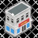 Hotel Motel House Icon