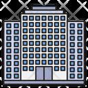Building Hotel Tourism Icon