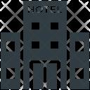 Hotel Building Inn Icon