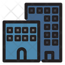 Hotel Building Room Icon