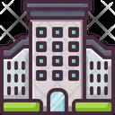 Build Hotel Resort Icon