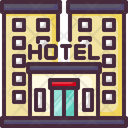 Hotel Resort Icon