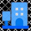 Hotel Building Apartment Icon