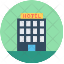 Hotel Building Five Icon