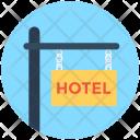 Hotel Sign Board Icon
