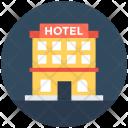 Hotel Building Luxury Icon