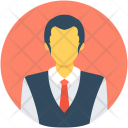 Hotel Manager Servant Icon