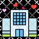 Hotel Honeymoon Heart Icon
