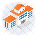 Hotel Villa Property Icon