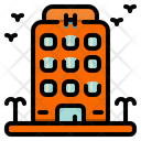 Hotel Home Buildings Icon