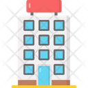 Hotel Restaurant Building Icon