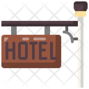 Hotel Sign Rating Icon