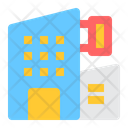 Hotel Lodging Apartment Icon