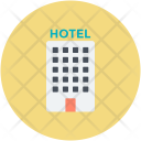 Hotel Building Rating Icon