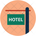 Hotel Restaurant Board Icon