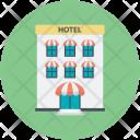 Hotel Lodge House Icon