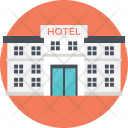 Hotel Building Shopping Icon