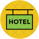 Hotel Signboard Info Icon