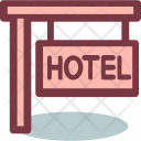 Hotel Restaurant Travel Icon