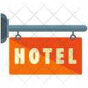 Hotel Hanging Board Icon