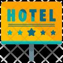 Hotel Five Star Icon