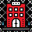 Hotel Travel Vacation Icon