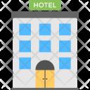 Hotel City Building Icon