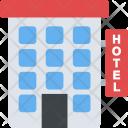 Hotel Building Motel Icon