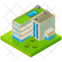 Hotel Business Building Icon