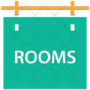 Hotel Information Rooms Icon