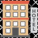 Hotel Building Lodge Icon