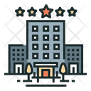 Hotel Travel Vacation Icon
