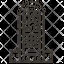 Hotel Building Uae Icon
