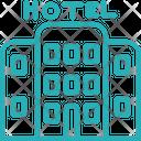 Hotel Building Room Icon