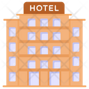 Motel Hotel Hotel Architecture Icon