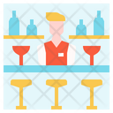 Hotel Bar Lounge Hotel Icon