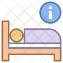 Hotel bed Icon