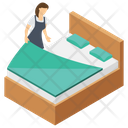 Hotel Bedroom Icon