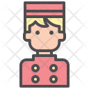 Porter Bellhop Bellboy Icon