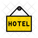 Hotel Board Hanging Icon